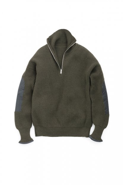 Graphpaper<br>Half Zip Commando Knit