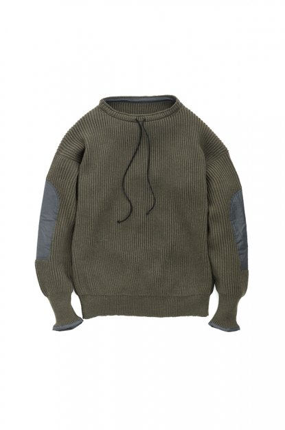 Graphpaper<br>Boat Neck Commando Knit