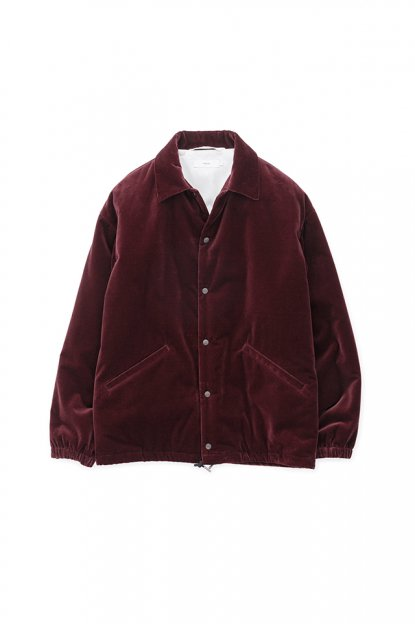 Graphpaper<br>Velvet Coach Jacket