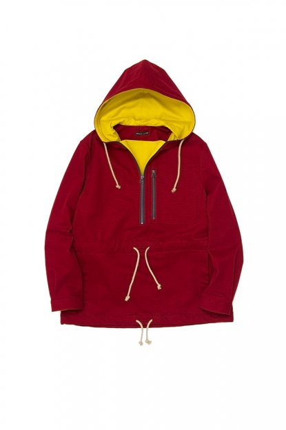 FRANK LEDER<br>RED YELLOW COTTON WINDBREAKER
