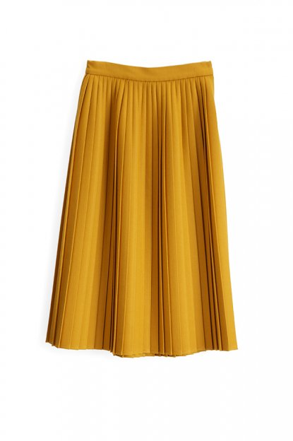 Graphpaper<br>S100s W-Cloth Pleat Skirt