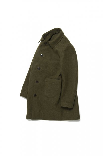 FRANK LEADER<br>HEAVY LODEN WOOL COAT