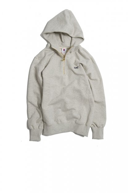 AIME LEON DORE<br>QUARTER ZIP HOODED SWEATSHIRT DROP THREE