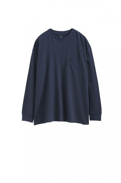 Graphpaper<br>80/- Hi-Twisted L/S Pocket Tee