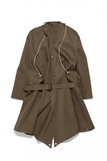 HED MAYNER<br>TRENCH COAT (OPEN BACK)