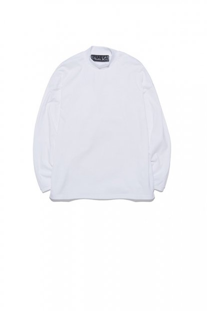 MARTINE ROSE<br>CLASSIC FUNNEL NECK LS T-SHIRT