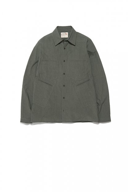 FRANK LEDER <br>TRPL WASHED THIN COTTON / SHIRT