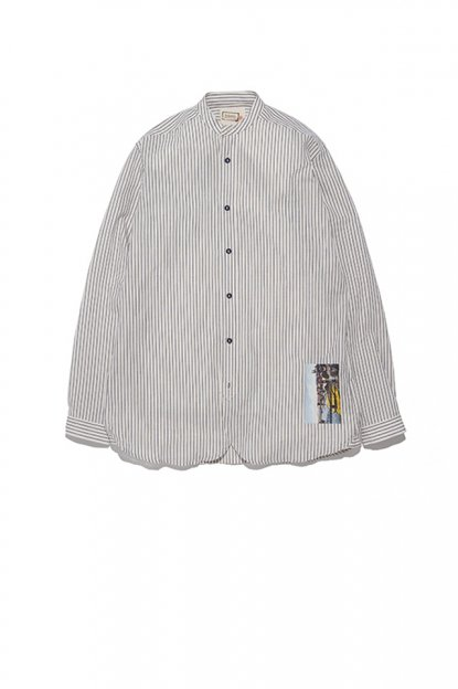FRANK LEDER<br>STRIPED COTTON / SHIRT
