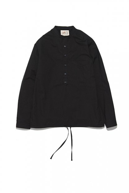 FRANK LEDER<br>TRPL WASHED THIN COTTON / PILLOVER SHIRT