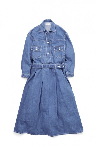 Graphpaper<br>Indigo Denim Dress