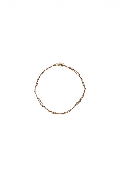 Margaret Solow<br>Gold Beads Bracelet