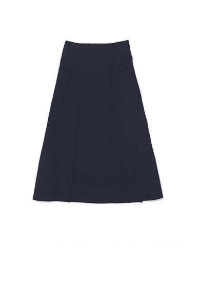 STUDIO  NICHOLSON<br>WOOL TWILL WOMENS HABIT A LINE SKIRT