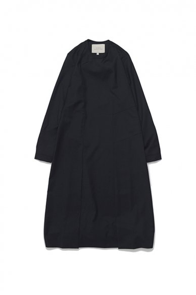 STUDIO NICHOLSON<br>ITALIAN WOOL WOMENS HABIT SPLIT DRESS