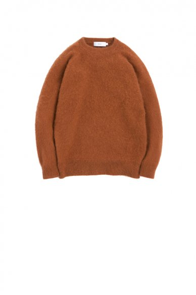 Graphpaper<br>Cashmere Shaggy Crew Neck Knit