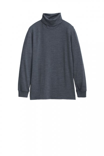 graphpaperwashable wool high neck tee graphpaper