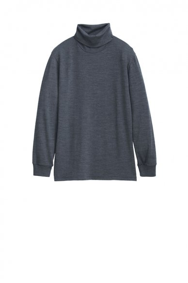 Graphpaper<br>Washable Wool High Neck Tee
