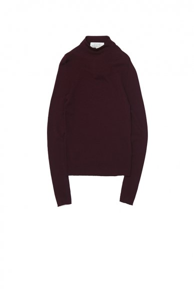 STUDIO NICHOLSON<br>FINE GAUGE WOMENS MOCK NECK KNIT