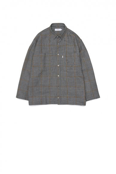 Graphpaper<br>Glencheck Wool L/S Box Shirt