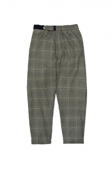 Graphpaper<br>Cashmere Glencheck Cook Pant