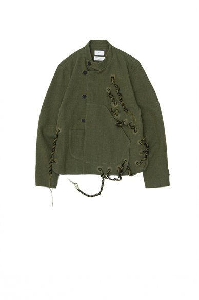 amachi.<br>DOUBLE CLOTH LIANA JACKET