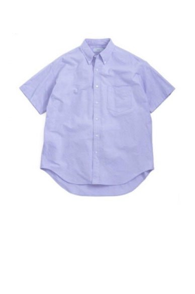 Graphpaper<br>Oxford S/S B.D Box Shirt