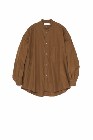 Graphpaper<br>Broad Oversized Band Collar Shirt
