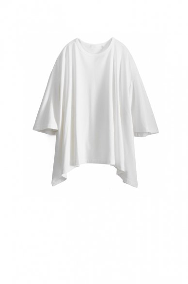Graphpaper<br>Sweat S/S Irregular Hem Tee
