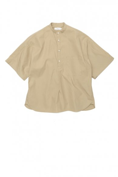 Graphpaper<br>Stevensons S/S Band Collar Shirt