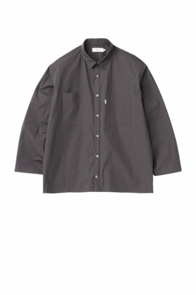 Graphpaper<br>Stretch Typewriter L/S Box Shirt