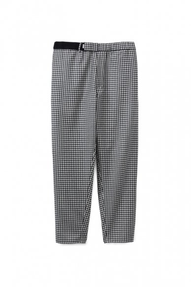 Graphpaper<br>Marzotto Gingham Cook pants