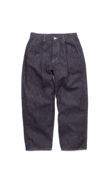 Graphpaper<br>Colorfast Denim 2 Tucks Pants