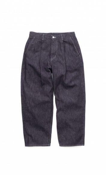 Graphpaper<br>Colorfast Denim 2 Tucks Pants