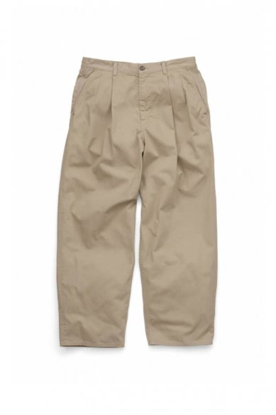 Graphpaper<br>Military Cloth 2 Tucks Pants