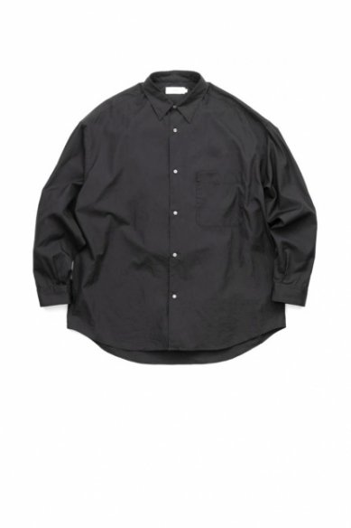 Graphpaper<br>Broad Oversized L/S Regular Collar Shirt