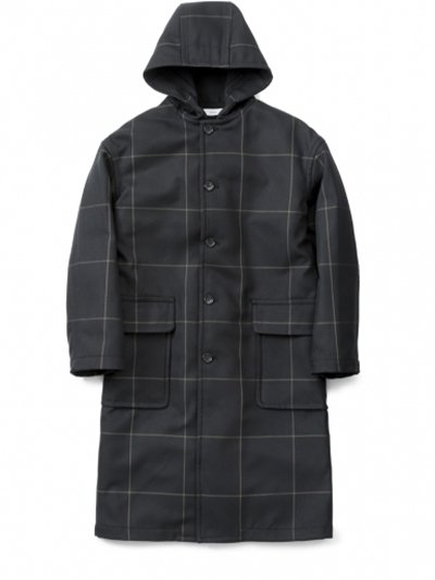 Graphpaper<br>Original Pane Hooded Coat
