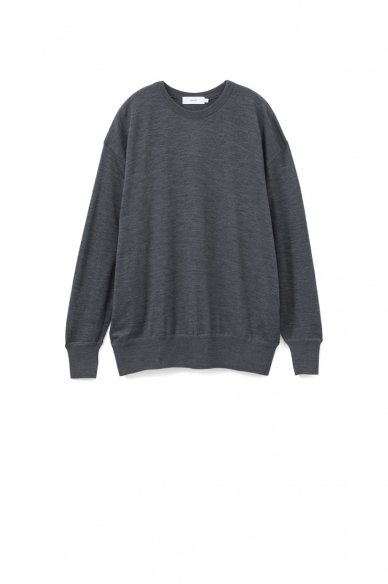 Graphpaper<br>Washable Wool Big Crew Neck Tee