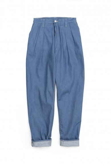 E.TAUTZ<br>PLEATED CHORE TROUSERS