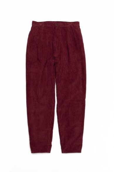 E.TAUTZ<br>PLEATED CHORE TROUSERS(CORDUROY)