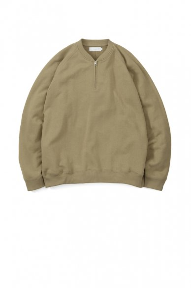 LOOPWHEELER for Graphpaper<br>Half Zip Sweat