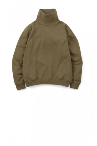 LOOPWHEELER for Graphpaper<br>Hi-Neck Sweat