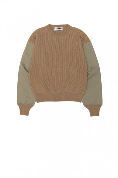 Cristaseya<br>Sweater With Leather Patch