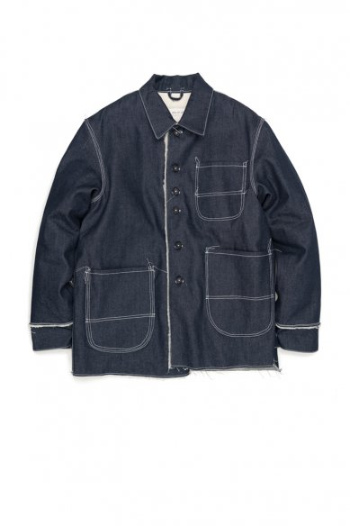 CAMIEL FORTGENS<br>Padded Denim Jacket