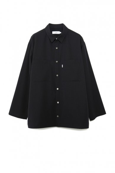 Graphpaper<br>Selvage Wool L/S Box Shirt