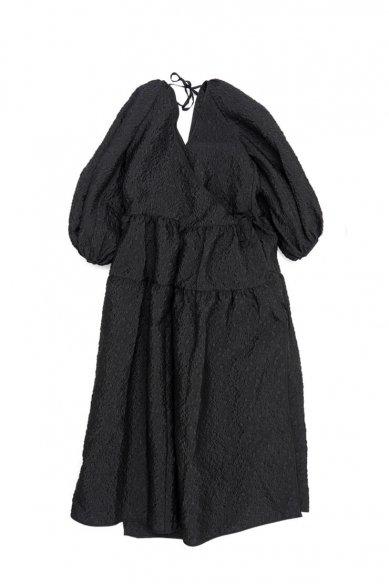 -SALE-<br>CECILIE BAHNSEN<br>AMANDA DRESS FLORAL MATTELASSE