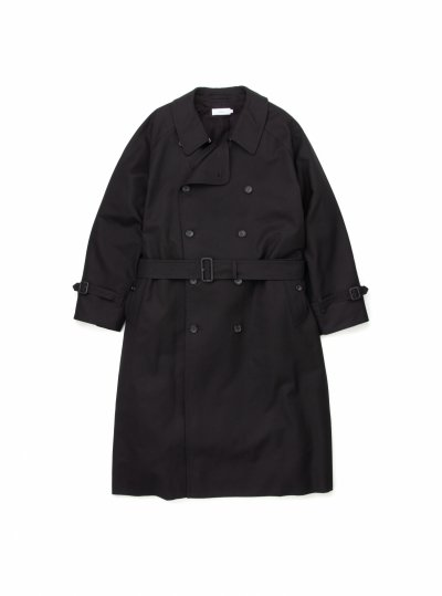 Graphpaper<br>Double Cloth Peach Trench Coat