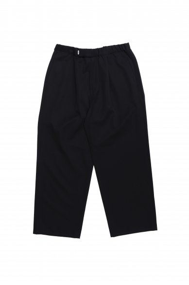 Graphpaper<br>Selvage Wool Wide Tuck Cook Pants