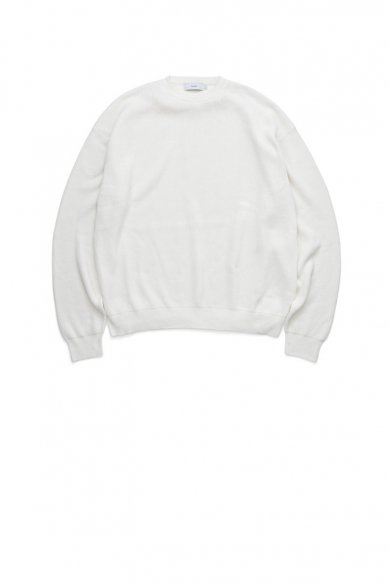 Graphpaper<br>High Density Knit Crew Neck