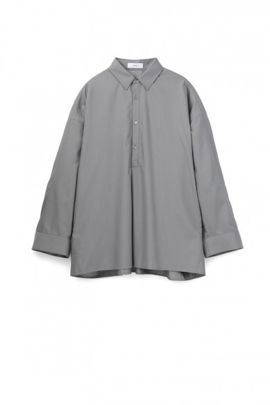 Graphpaper<br>Silk Wool Regular Collar York Sleeve Shirt