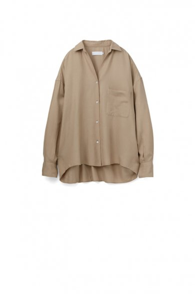 Graphpaper<br>Viscose Regular Collar Big Sleeve Shirt