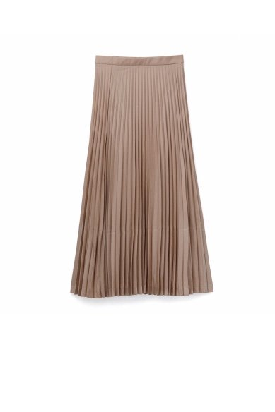 Graphpaper<br>Silk Wool Pleats Skirt